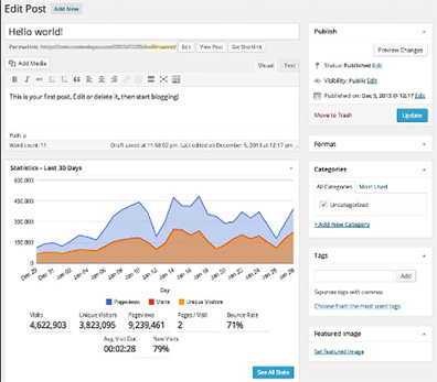 Google Analytics + for WordPress